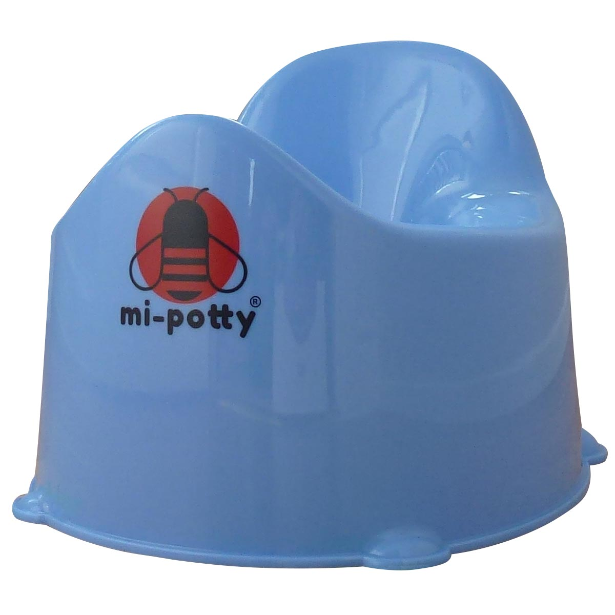 Blue mi-potty