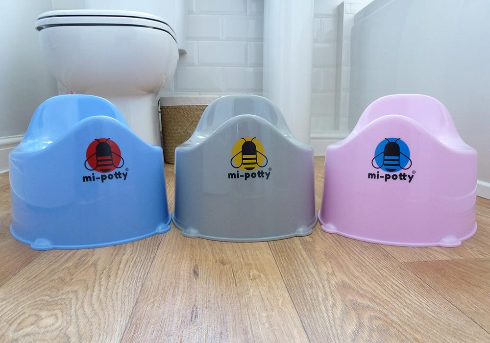 mi-potty The Anti-Bacterianol Orinal Gris
